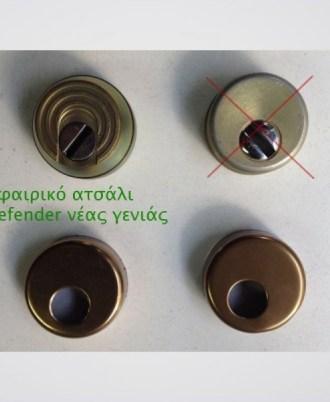 Κλειδαριά πόρτας ασφαλείας CISA AXVdefender