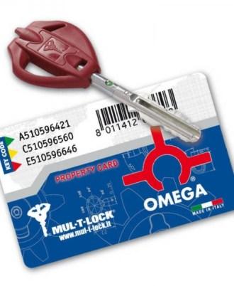 Κλειδαριά πόρτας ασφαλείας Νέου τύπου (Omega Plus) multlock-031