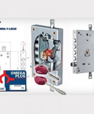 Κλειδαριά πόρτας ασφαλείας Νέου τύπου (Omega Plus) multlock-051