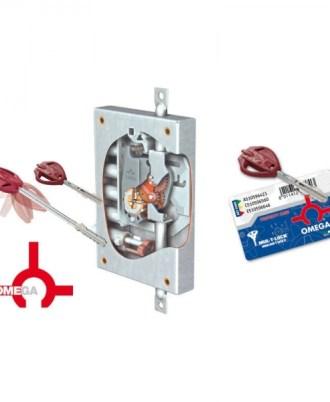 Κλειδαριά πόρτας ασφαλείας Νέου τύπου (Omega Plus) multlock-072