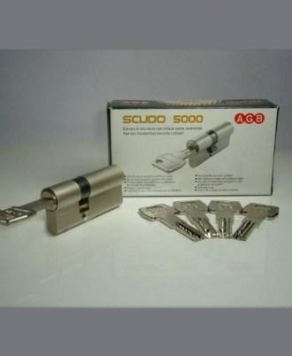 Κύλινδρος - αφαλός ασφαλείας AGB SCUDO 5000 με αναστρέψιμο επίπεδο κλειδί 1