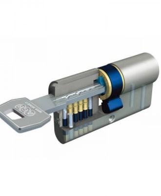 Κύλινδρος - αφαλός ασφαλείας AGB SCUDO 5000 με αναστρέψιμο επίπεδο κλειδί