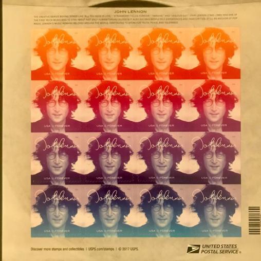 john Lennon stamps