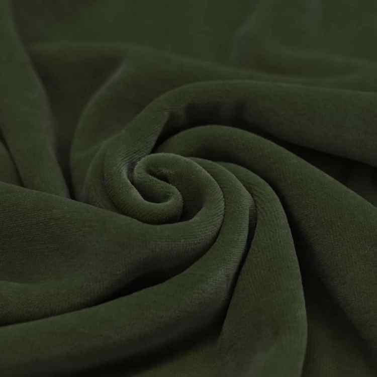 Velour leger groen