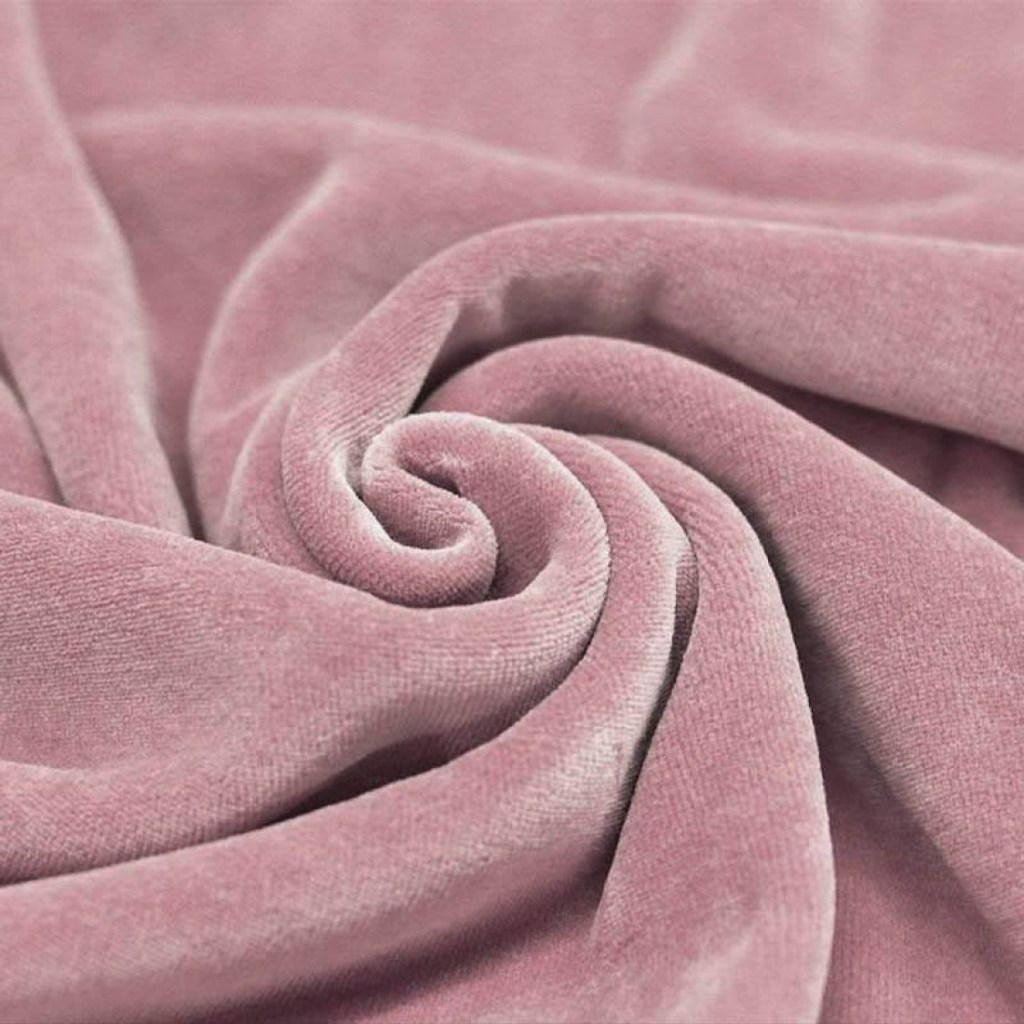 Velour oud roze