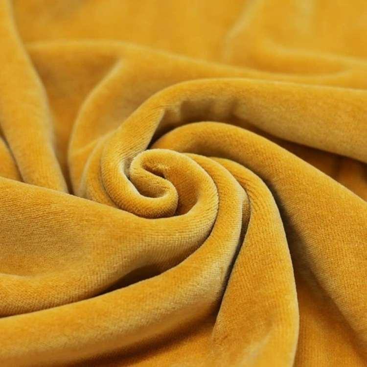Velour oker geel