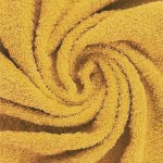 badstof oker geel, badcape, omslagdoek, zelf samenstellen