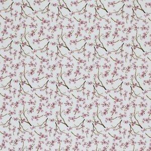 oud roze bloesem takjes, katoen, babynestjes, kinderwagendeken, ledikantdeken, wiegdeken, babyproducten, handgemaakt