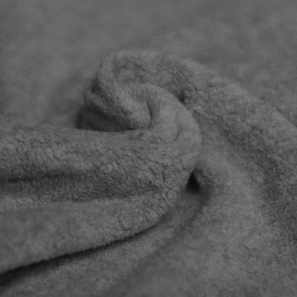 donker grijs katoen fleece
