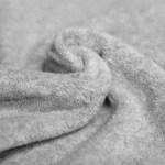 licht grijs katoen fleece