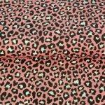 luipaard cheetah print roze
