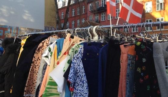 Loppemarked in Nørrebro