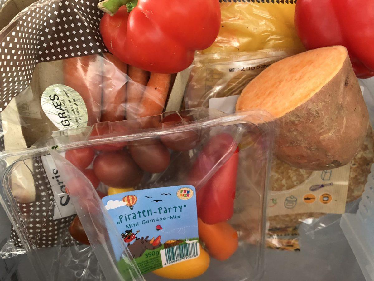 koelkastlade groente
