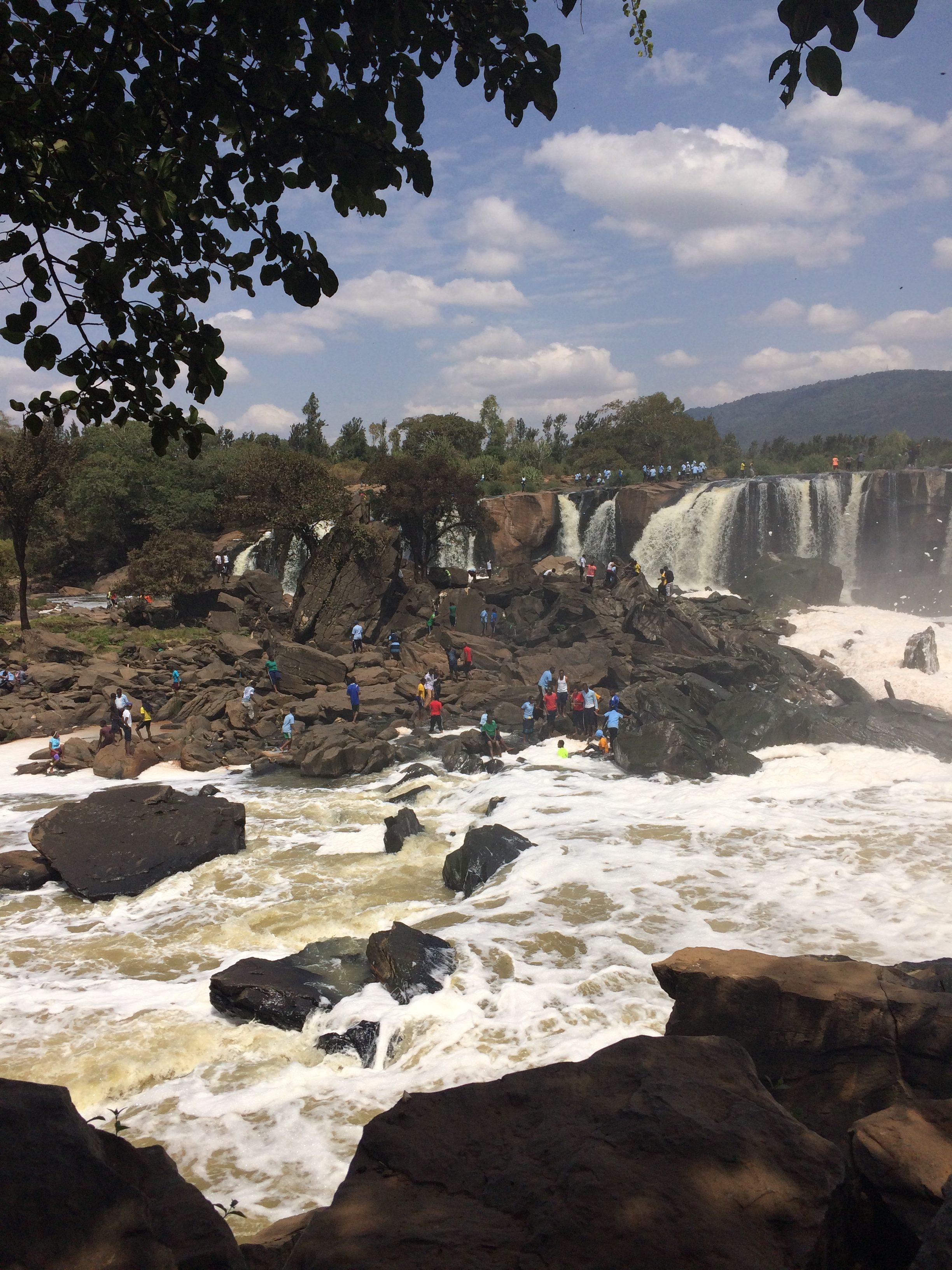 Uitje Fourteen Falls 2016