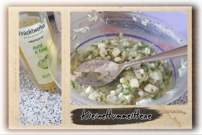 Gurken Feta Salat