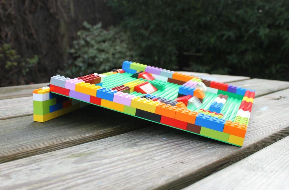 Dammen bouwen met Lego