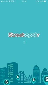 Streetspotr-Start