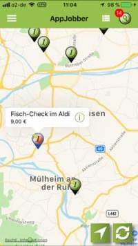 appJobber-Alt  Microjobbing –  €463,10 in 22,5 Stunden appJobber Alt 200x356