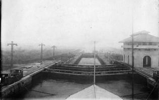 Schleusen Panamakanal