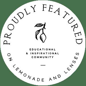 Auszeichnung, Veröffentlichung auf amerikanischm Blog Lemonade and Lenses