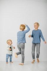Kids Fotoshooting 3 Jungs im Studio Beilstein