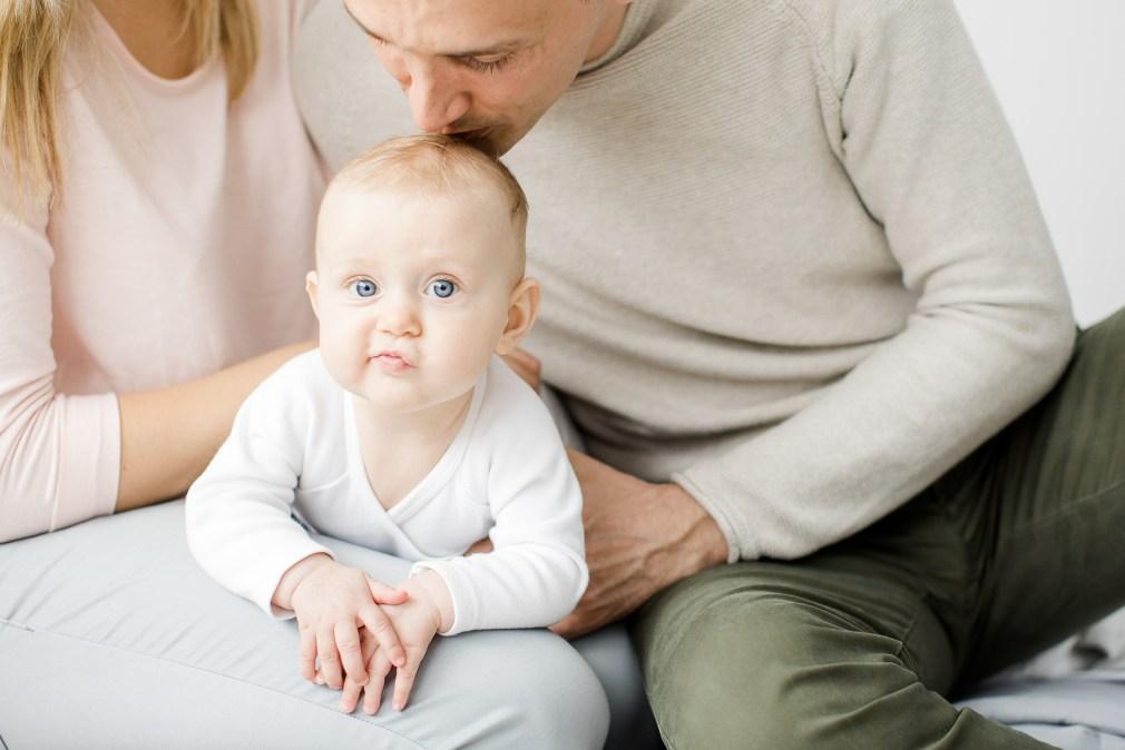 Babyfotos Babymädchen Fotoshooting Michaela Klose Fotografin Beilstein Familienfotos