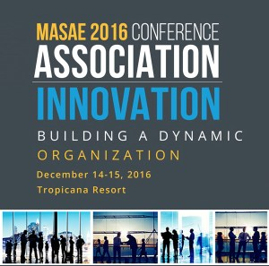 Cover of Mid-Atlantic Society of Association Executives (MASAE) Conference attended by Michael Kleiner Public Relations and Web Design's Michael Kleiner and John Shiffert