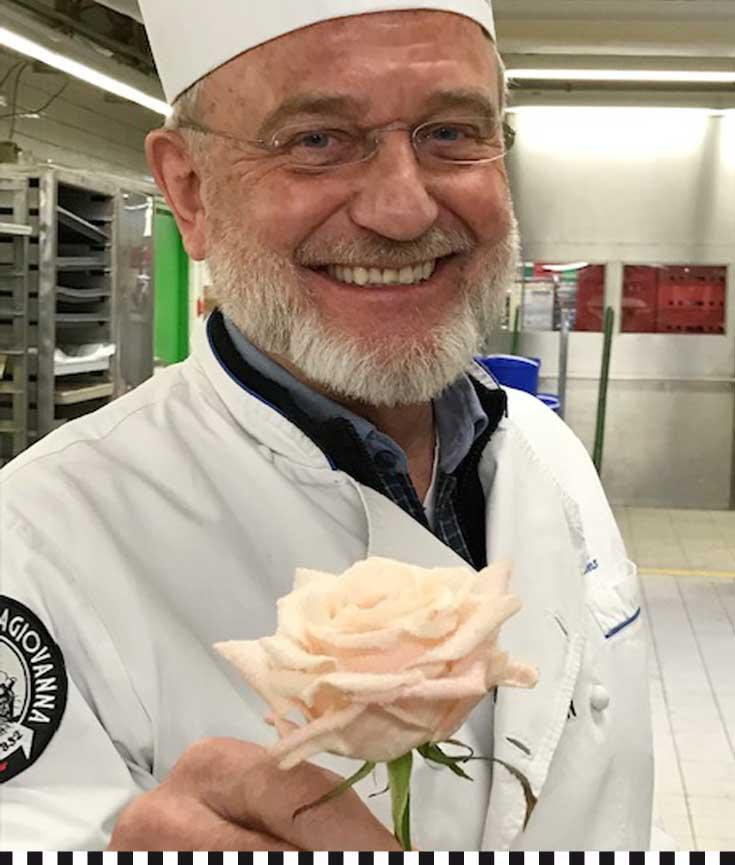heinz-richard heinemann mit rose