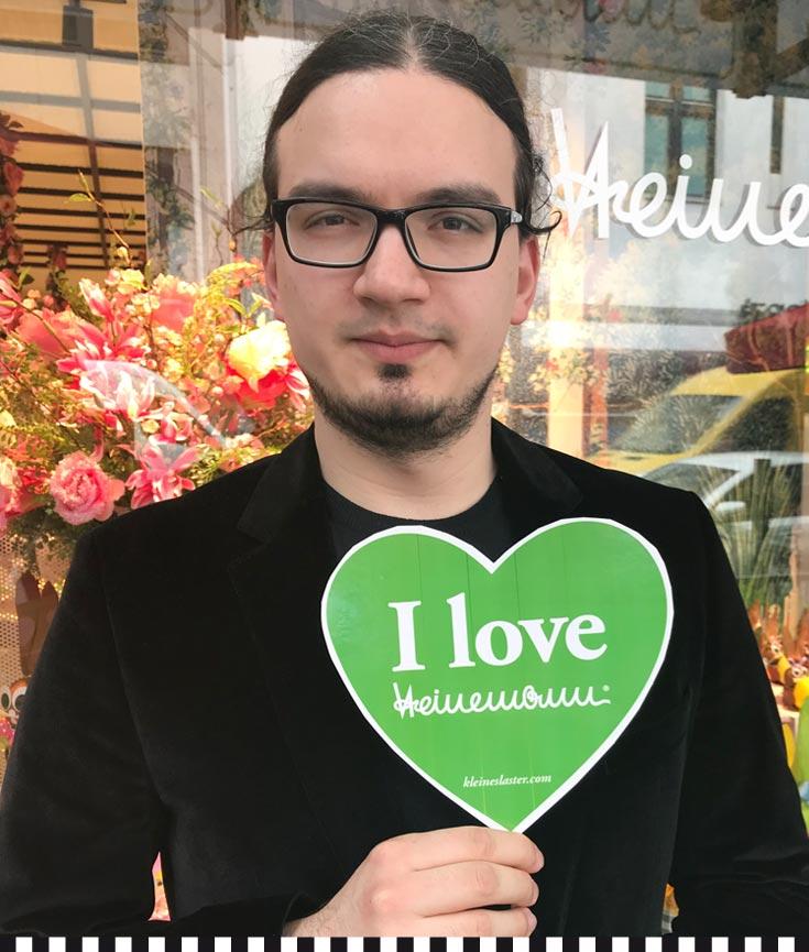 Vito Soriano liebt die Konditorei Heinemann