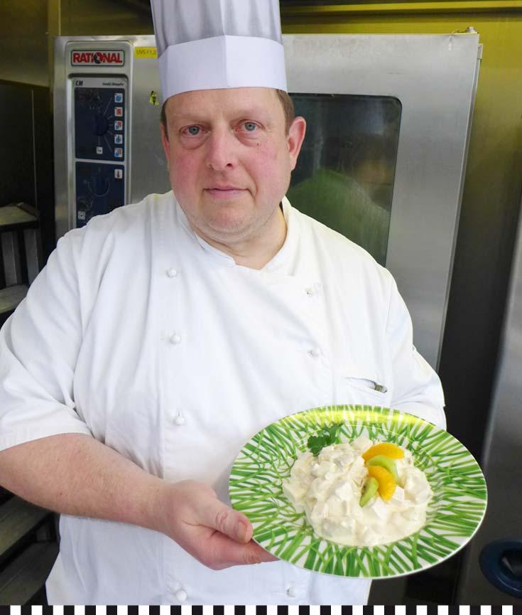 Souschef: Ronny Wimmer, stellvertretender Chefkoch, bürgt für Geschmack und Qualität.