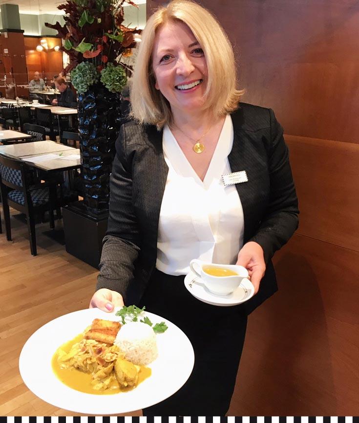Vaia Dimitriou, Restaurantchefin bei Heinemann