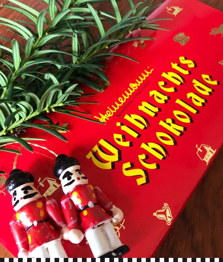 weihnachtsschokolade von heinemann