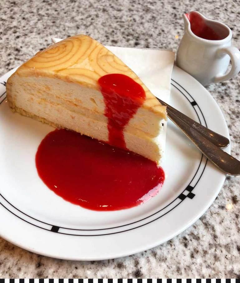 Charlotte Royale Torte in der Konditorei Heinemann
