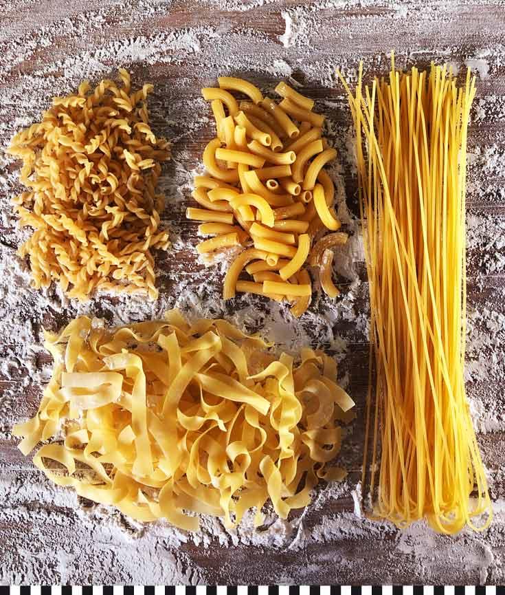 Köstliche handgemachte Nudeln aus der Konditorei Heinemann