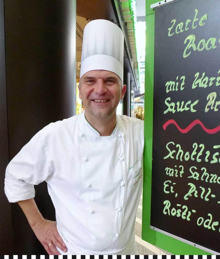 Andreas Bolten heißt willkommen