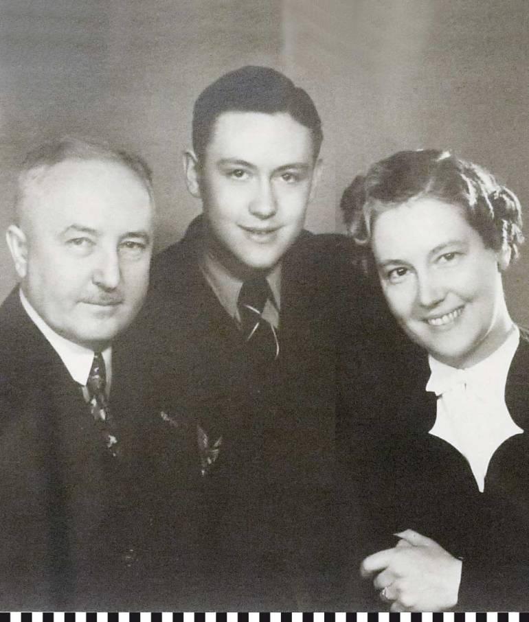 Familie Fieger, in der Mitte Franz Josef