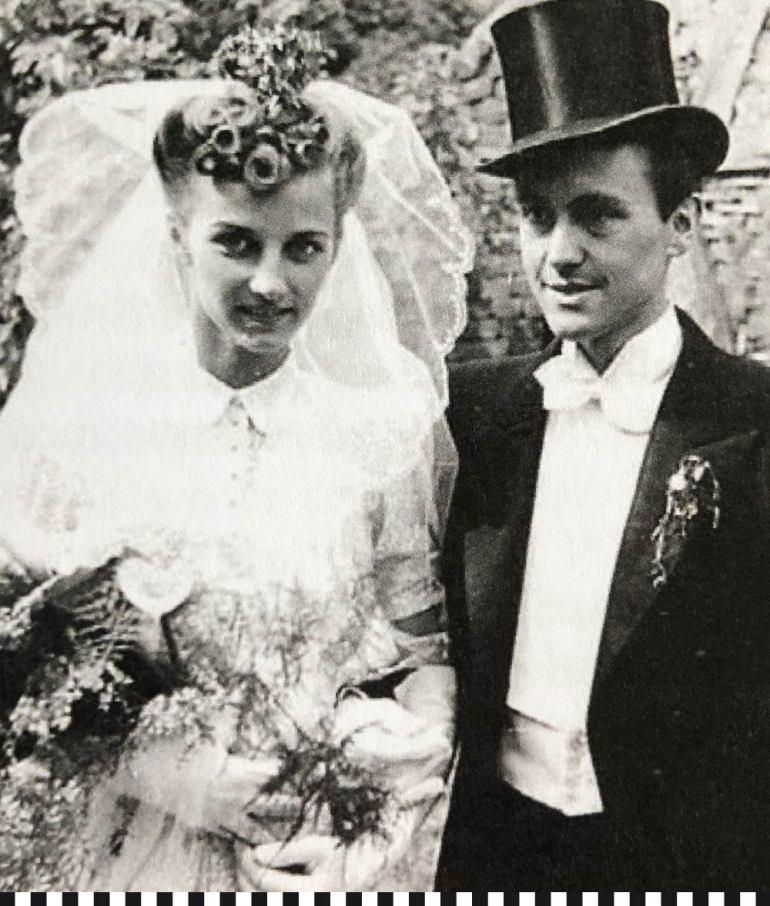 Gisela und Franz Josef Fieger heiraten