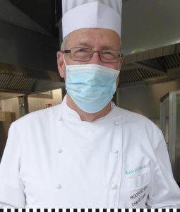 Chefkoch Rolf Küsters ist gut drauf