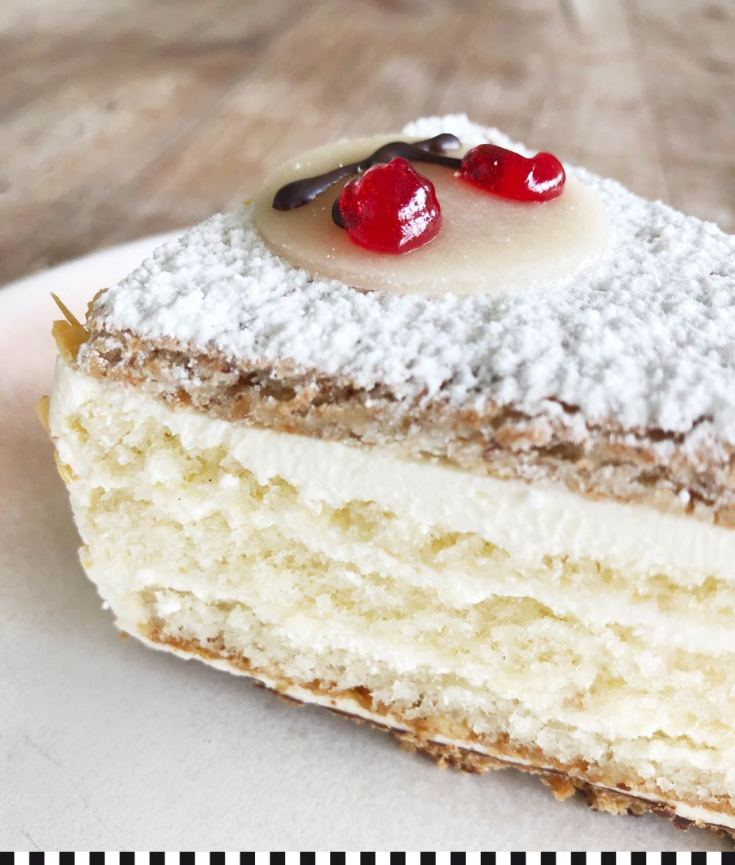 Leckere Kirschwasser-Torte aus der Konditorei Heinemann