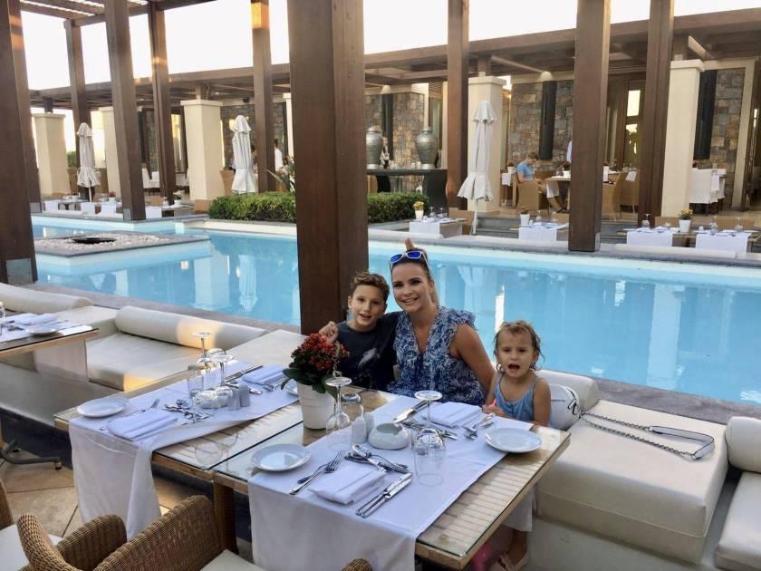 Kinderhotel Kreta Abendessen