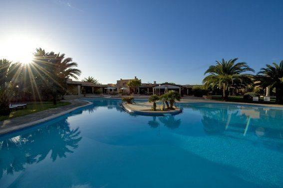 Panorama Bild Pool Finca sa Tanca