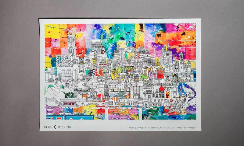 Klein Imaging Matt Etching giclée paper