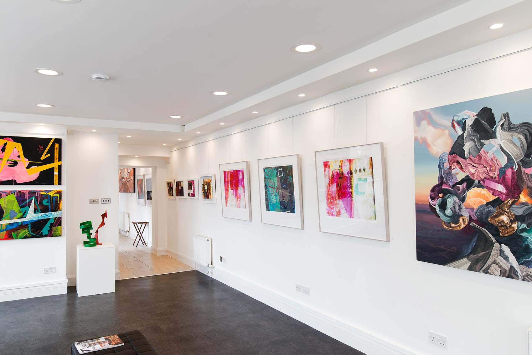 Colour & I Are One at Saul Hay Gallery