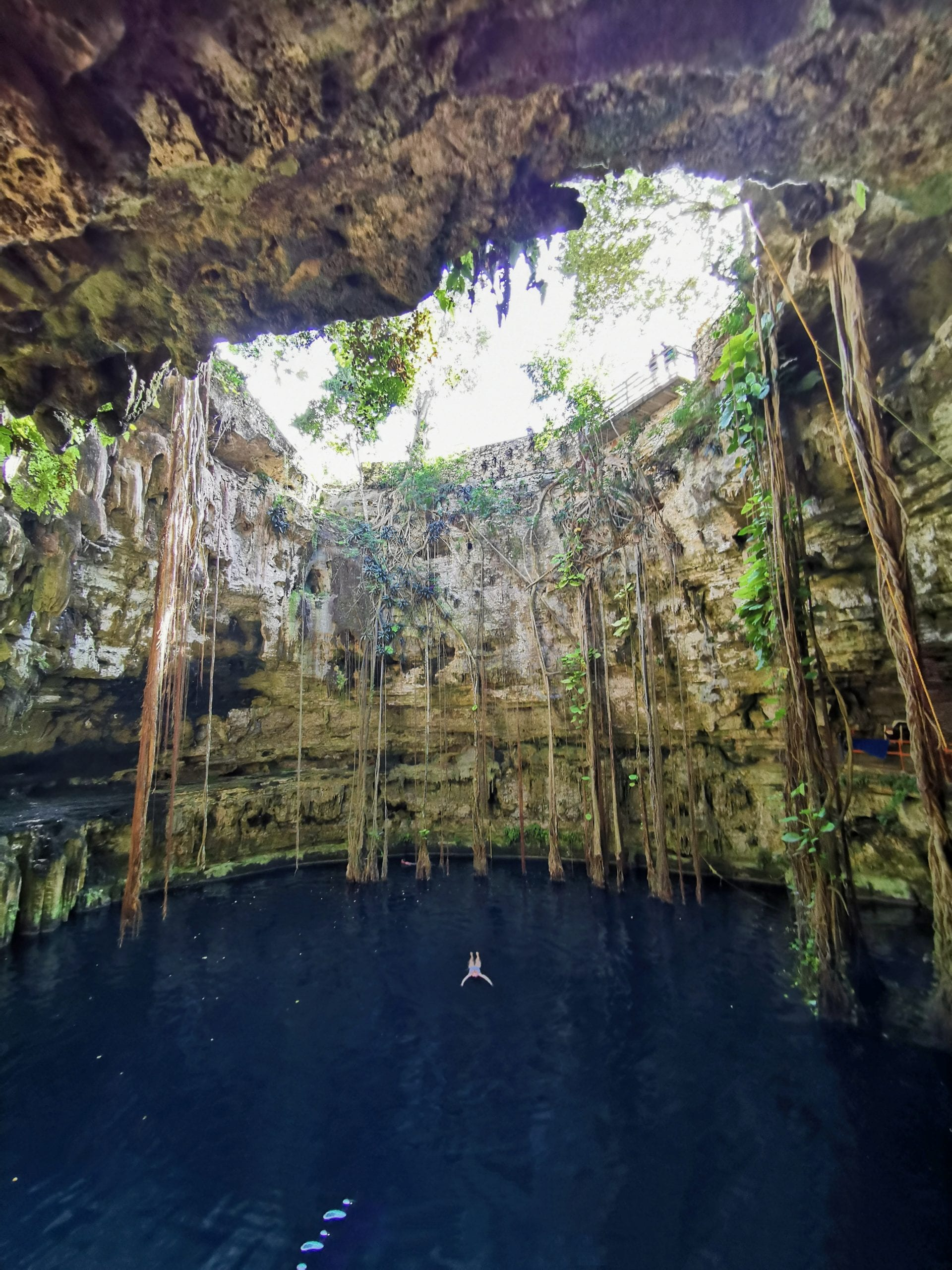 Mexiko Rundreise Highlights Cenote San Lorenzo Oxman