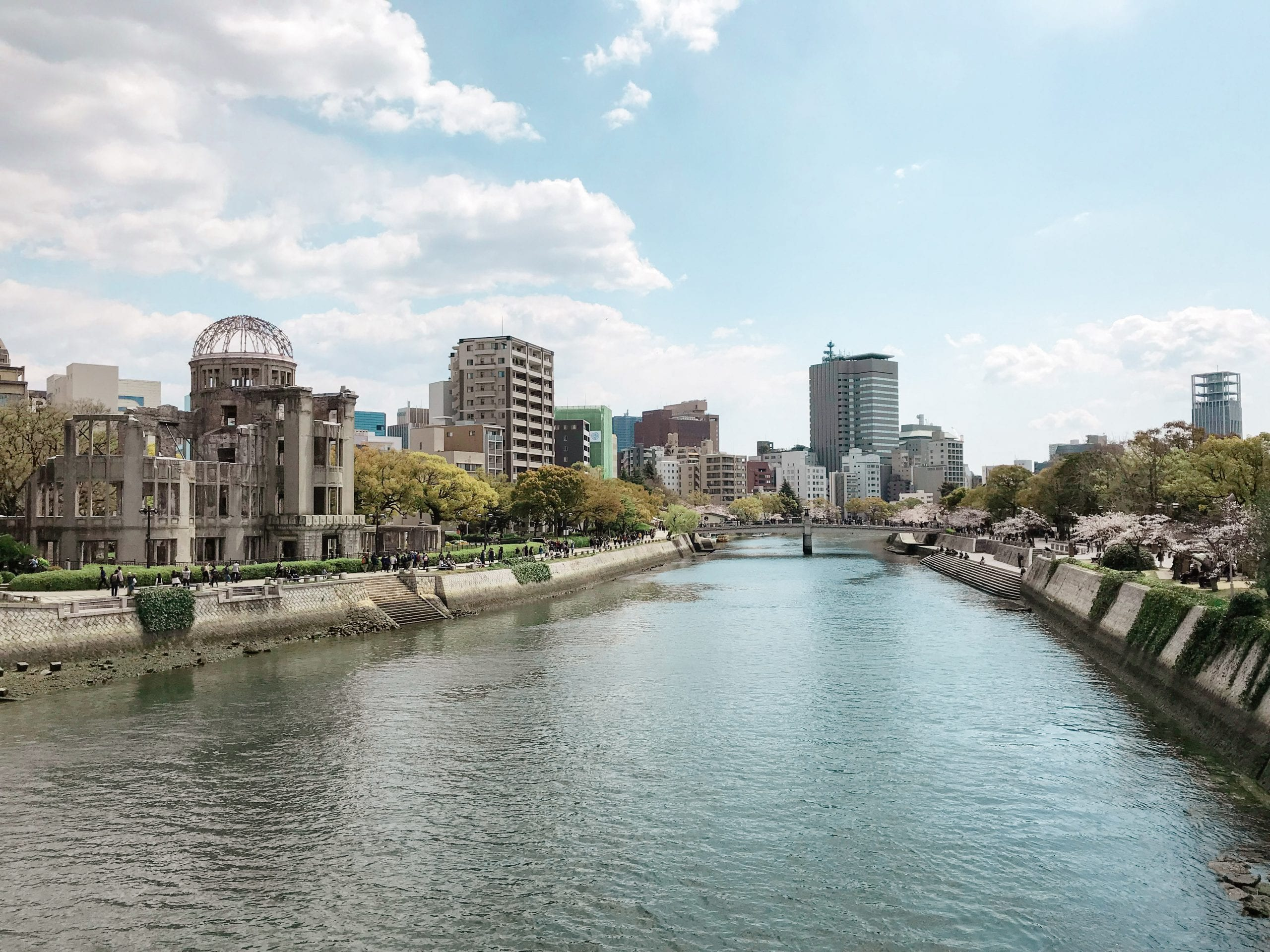 Rundreise Highlights hiroshima fluss