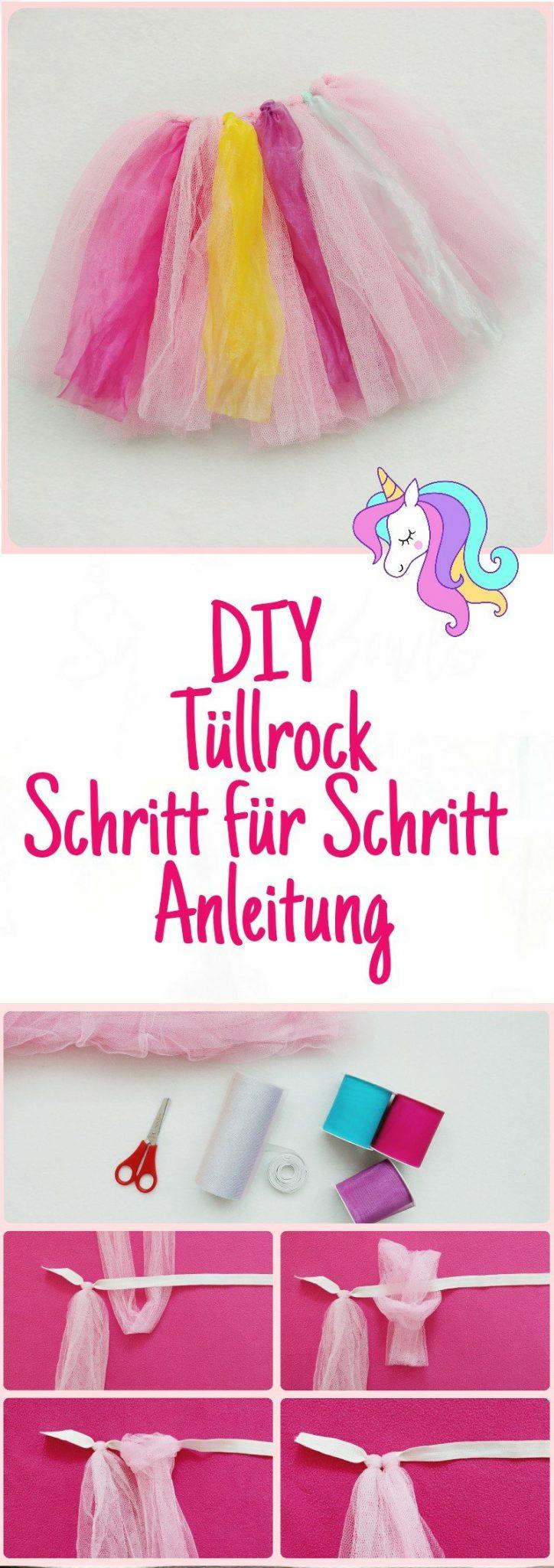 Einhorn Kostüm Für Kinder Selber Machen Teil 2 Diy Einhorn Rock