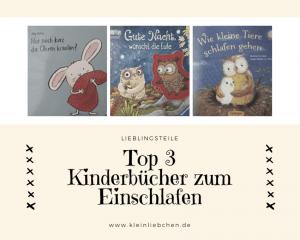 Top 3 - Kinderbücher zum Einschlafen