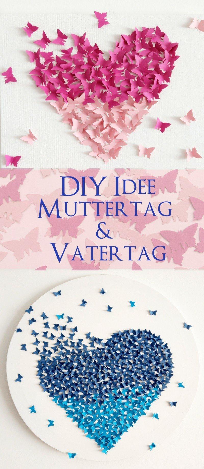 Bilder Zum Muttertag Und Vatertag Basteln 3 Diy Ideen Mit