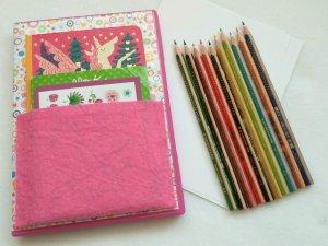 DIY Malbuch für Kinder aus einer alten DVD Hülle – Tolle Idee für unterwegs