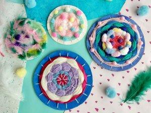 Read more about the article Weben mit Kindern -Einfache DIY Idee mit Anleitung